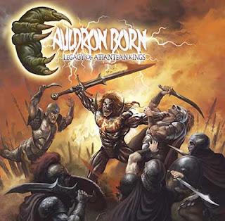 """Ο δίσκος των Cauldron Born """"Legacy Of Atlantean Kings"""""""