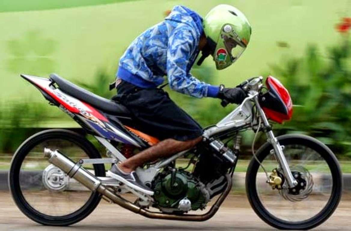 Gambar Modifikasi Satria Fu Thailand Modifikasi Motor Satria Fu Thailand Bajindul Modifikasi