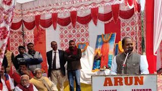 Jaunpur : बहुत ही विलक्षण प्रतिभाग के धनी थे स्वामी जी : बीपी सरोज