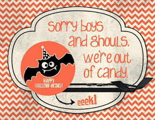 Out of Candy Sign by Stamping with Erica.