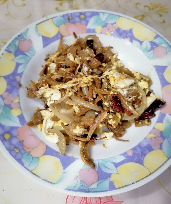 Resepi Lobak Asin Dengan Telur Sedap Dan Ringkas