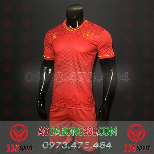 Áo Đội Tuyển Việt Nam 2019 2020 Fantasy Đỏ 3