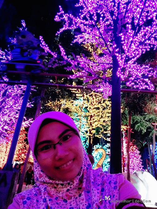 Jalan-jalan city of Light i-City Shah Alam