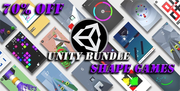 Download Unity Shape Games Bundle