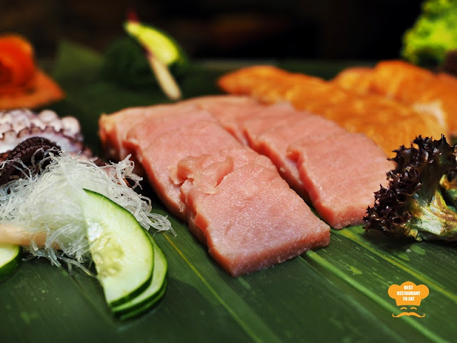 Sashimi SelectionOne World Hotel Bandar Utama Cinnamon Coffee House