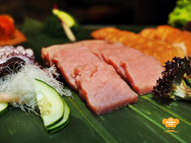 Sashimi SelectionOne World Hotel Bandar Utama Cinnamon Coffee House