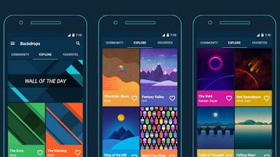 beberapa orang juga tidak asal pilih dan memasang gambar  yang tidak cocok dengan keingin 10 Aplikasi Wallpaper Keren untuk Background HP dan Whatsapp