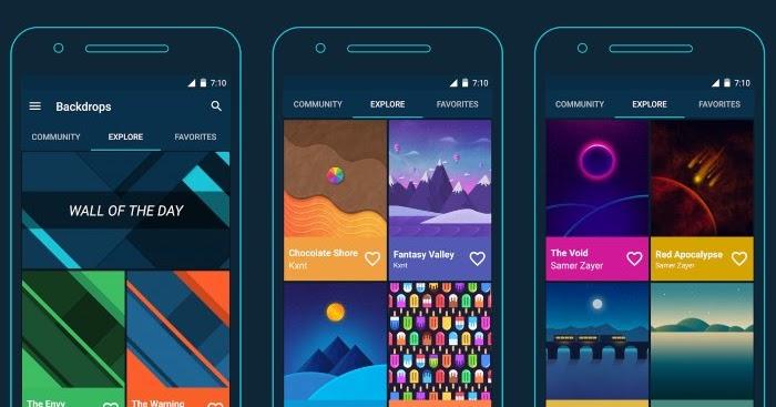 10 Aplikasi Wallpaper Keren Untuk Background HP Dan