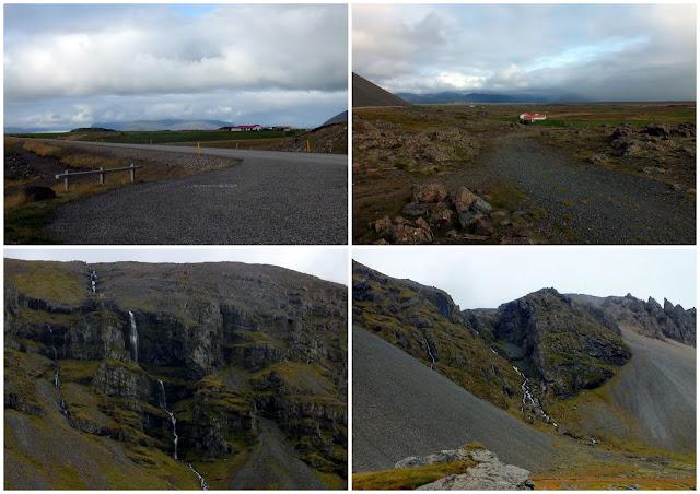 paisaje en Islandia, fiordos