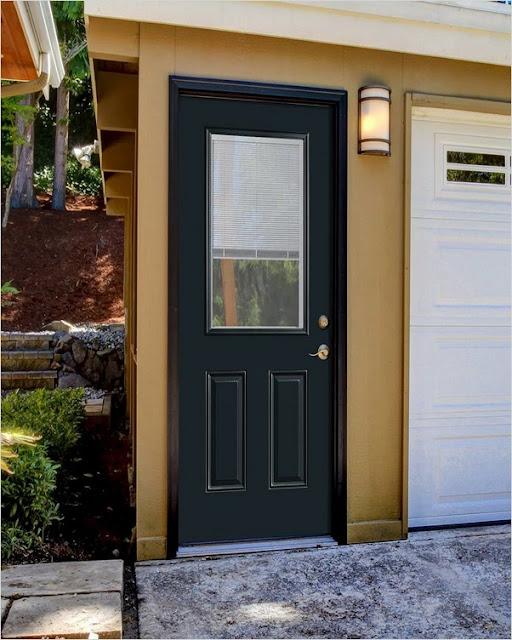 mobile home front doors with storm door