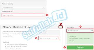 Lowongan Kerja Member Relation Officer Alfamart Pontianak