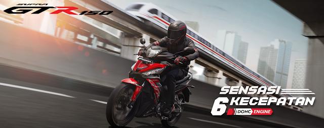 New Honda Supra GTR150 Desain Grafis Penuh Sensasi