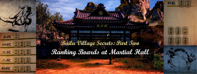 Bailu Village Secrets Part 2: Ranking Boards at Martial Hall