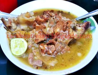 Foto Resep Kaldu Kikil (kokot) Kacang Hijau Sederhana Spesial Asli Enak