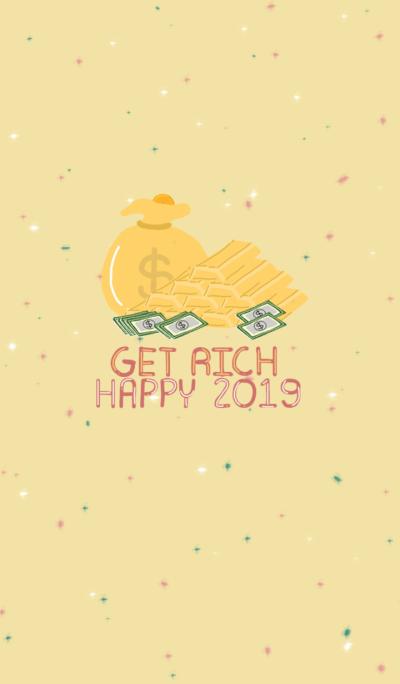 Get rich Happy New Year 2019