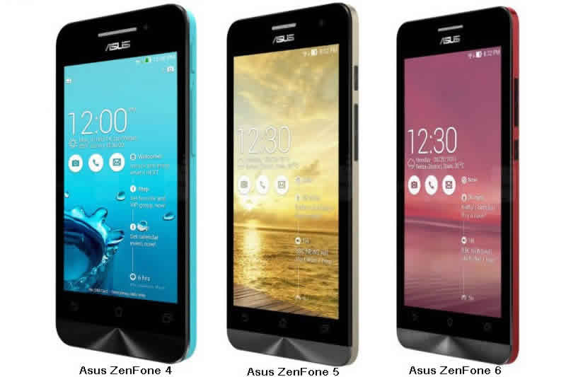 Asus Zenfone 4, 5, dan 6 Update Lollipop