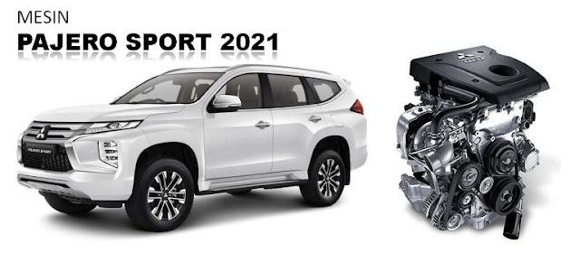 mesin-new-pajero-sport-2021