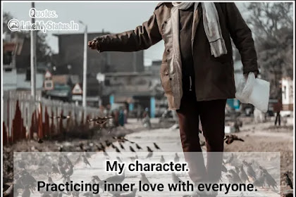 My character | Quote About Me