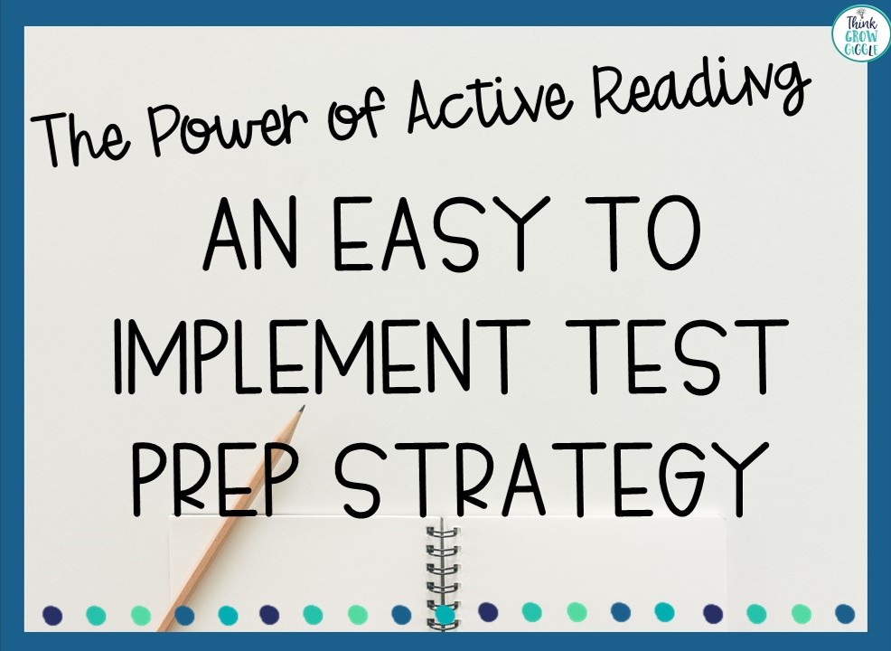 test prep strategy grade 5
