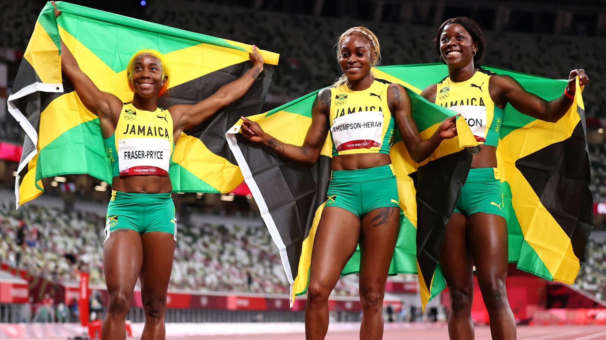 Jamaica Olimpíadas atletismo feminino