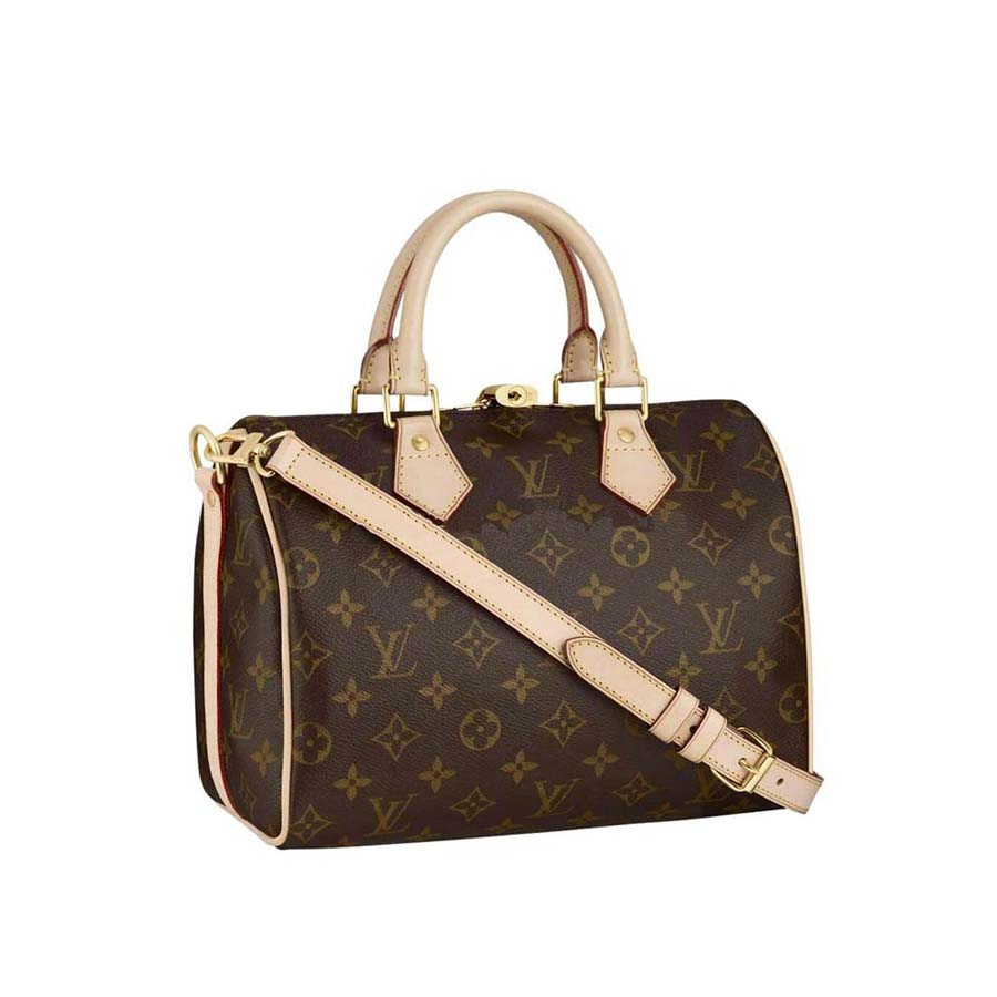 bd18f0f7b5e7 louis vuitton ring key chain. The Speedy 25 with shoulder strap is the  perfect city bag. Its iconic shape is timeless in Monogram Canvas