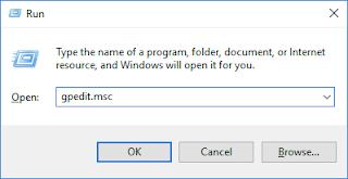 cara mematikan auto update windows 10 secara permanen menggunakan group policy editor