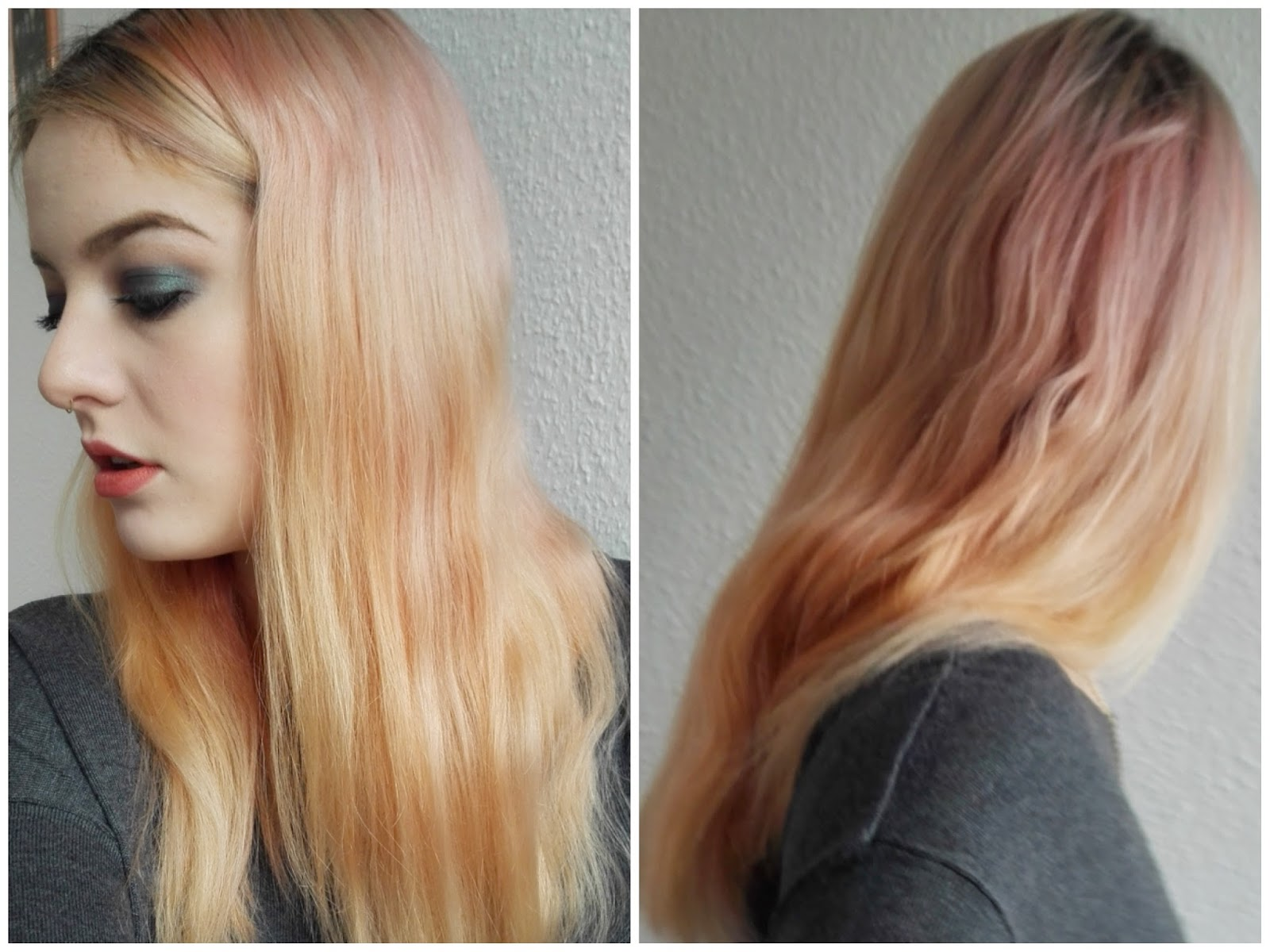 Apricot Farbe Haare