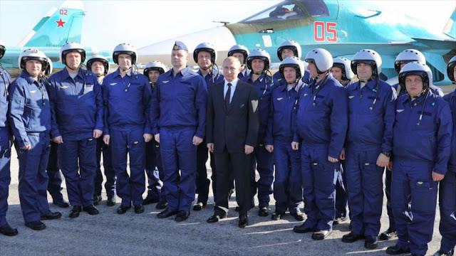 Putin ordena retirar parte de fuerzas militares rusas de Siria