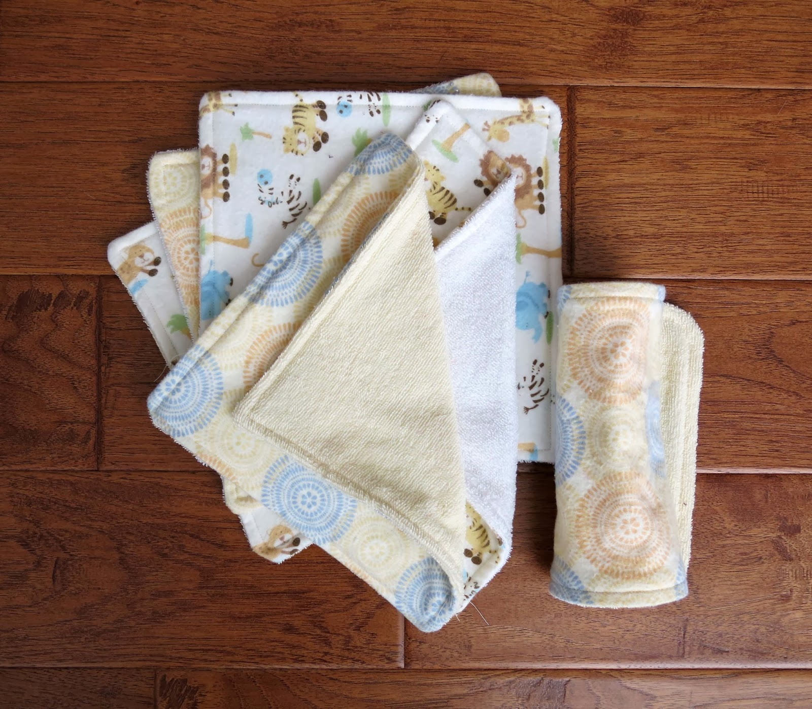 Wash Cloths As Burp Cloths: A Mighty Good Yarn: DIY Tutorial: Baby Washcloths And Burp
