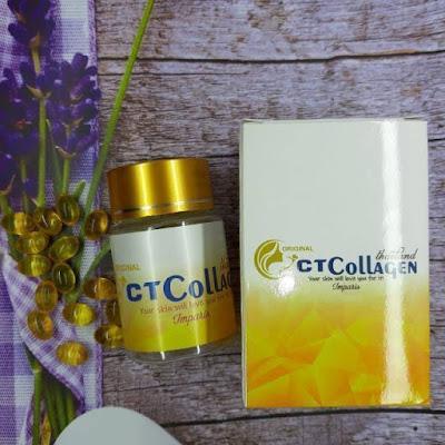 CT Collagen Suplemen Pemutih Kulit Ampuh
