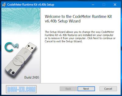 Instal codemeter