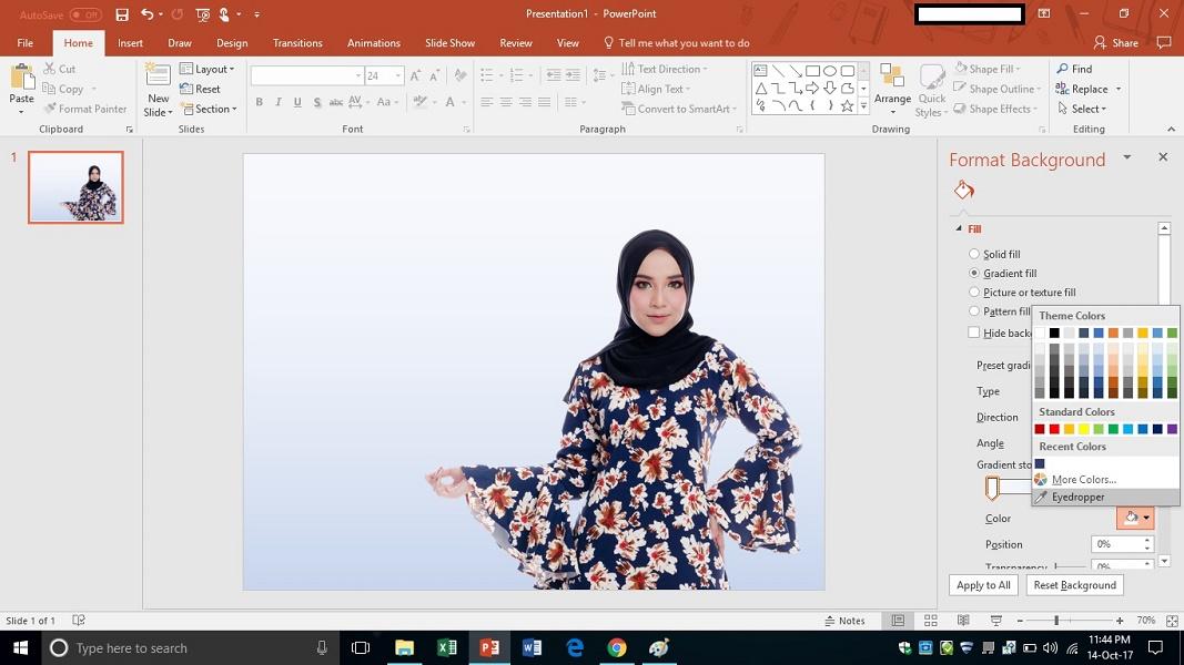 Cara Membuat Banner Menggunakan Powerpoint 2016 Padinrose Tips Hobi Dan Motivasi