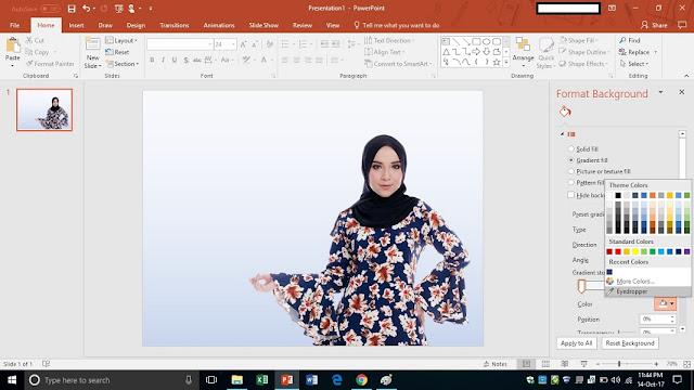 tutorial membuat banner menggunakan powerpoint