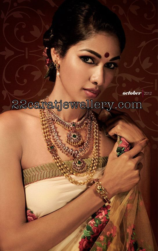 Nethra Raghuraman In Traditional Bridal Jewelry