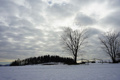 Kaczawskie zimowe krajobrazy