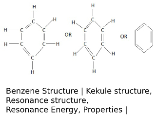 Benzene Structure.