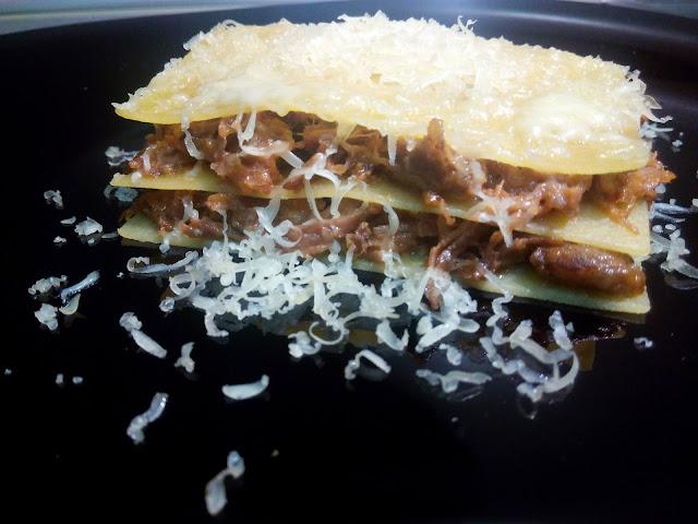 bechamel, lasaña, masas y pan, sin gluten, pasta, queso, salsa, carrilladas