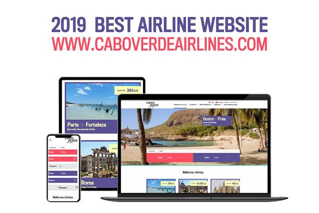 Site da Cabo Verde Airlines ganha prémio internacional