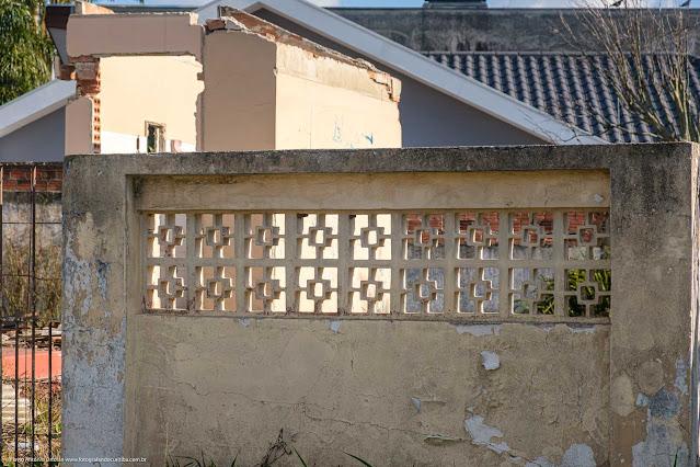 Muro com Cobogós