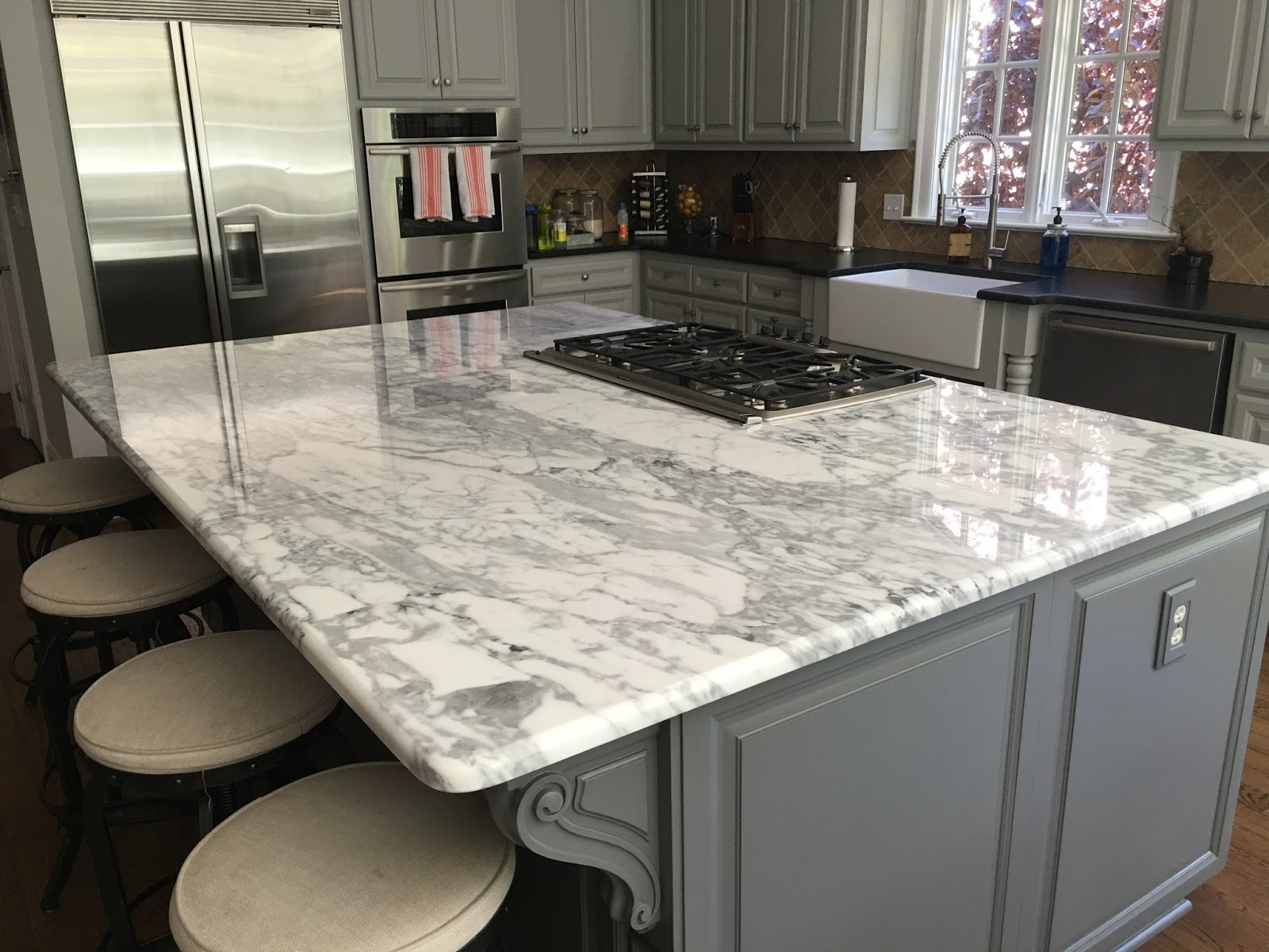 Granite Countertop Styles : Granite budget kitchen countertops charlotte