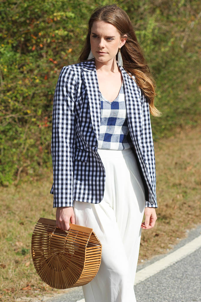 How to style gingham prints