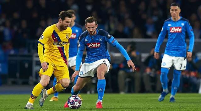 بث مباشر مباراة برشلونة ونابولي اليوم 18-03-2020 في دوري أبطال أوروبا