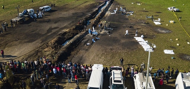 common injuries caused by pipeline explosions