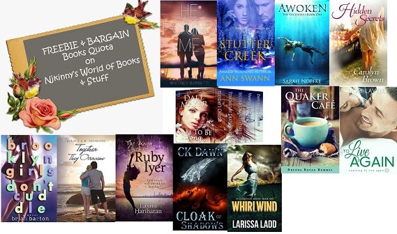 FBQ(49)--> FREE and BARGAIN books quota!