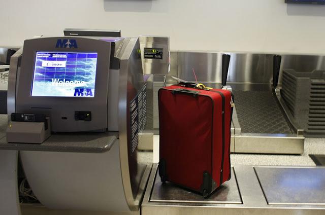 Mala despachada em voos internacionais