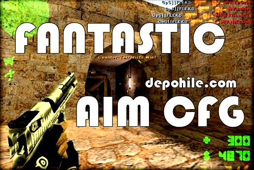 Counter Strike 1.6 Fantastic Aim CFG + DLL Hile Gibi Etkili 2020
