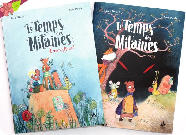 Le Temps des Mitaines - Cœur de Renard de Loïc Clément et Anne Montel - Didier jeunesse