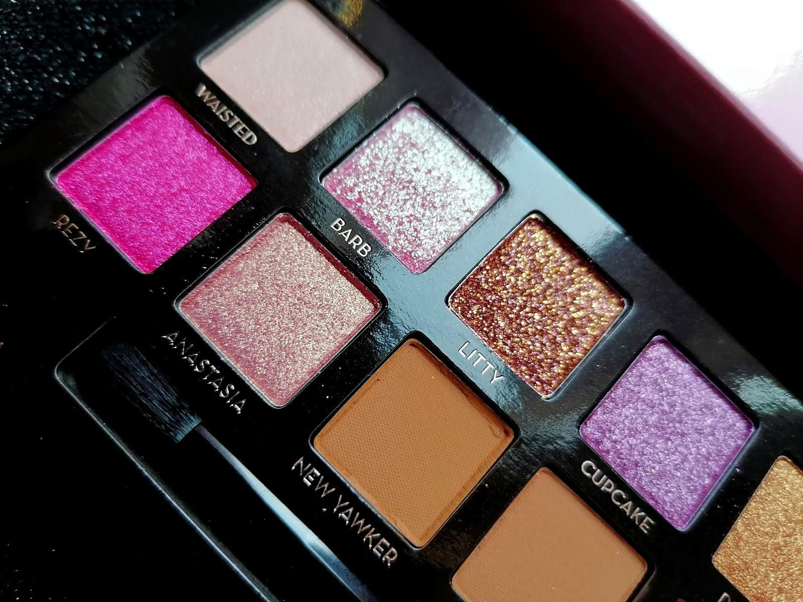 Anastasia Beverly Hills >> swatch & make up avec la palette AMREZY!