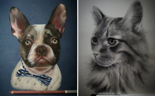 00-Rene-Lopez-Animal-Pencil-and-Pastel-Portrait-Drawings-www-designstack-co