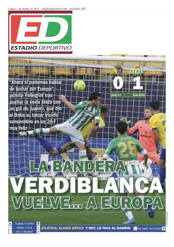 """Betis, Estadio Deportivo: """"La bandera verde y blanca vuelve... a Europa"""""""